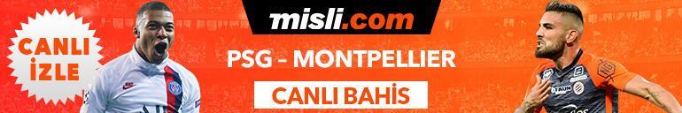 PSG - Montpellier maçı Tek Maç ve Canlı Bahis seçenekleriyle Misli.com'da