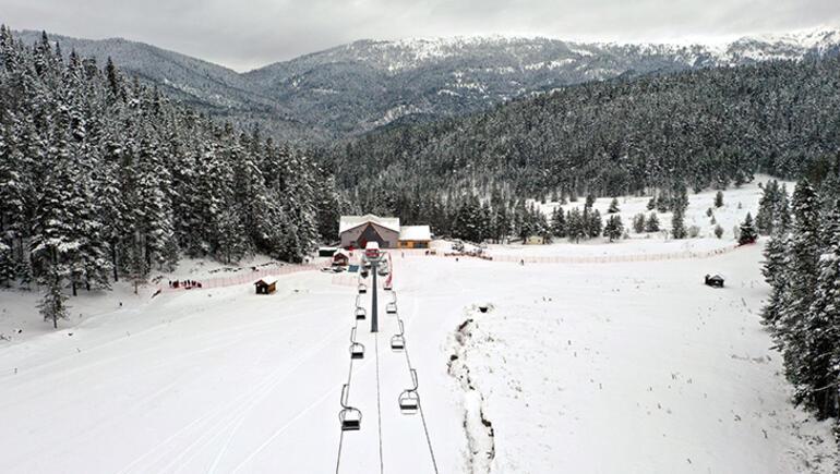 Ilgazdaki Yıldıztepe Kayak Merkezi sezonu açtı