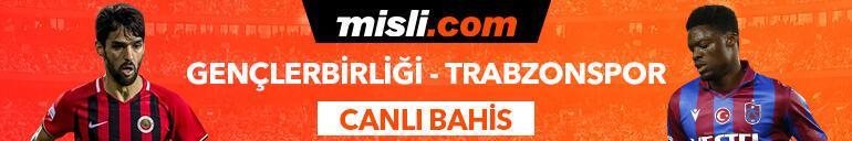 Gençlerbirliği-Trabzonspor karşılaşmasında Canlı Bahis heyecanı Misli.comda