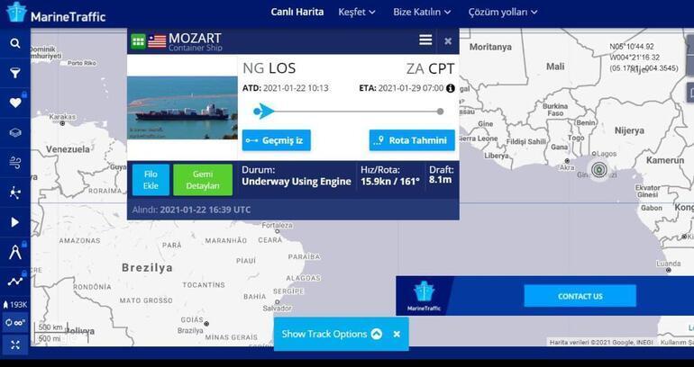 Son dakika haberi: Türk gemisine korsan saldırısı Cumhurbaşkanı Erdoğan kaptanla görüştü