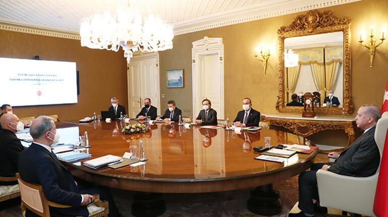 Son dakika Kritik toplantı Cumhurbaşkanı Erdoğan başkanlık etti