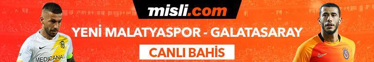 Yeni Malatyaspor - Galatasaray maçı Tek Maç ve Canlı Bahis seçenekleriyle Misli.com'da
