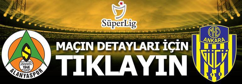 Alanyaspor - Ankaragücü: 4-3