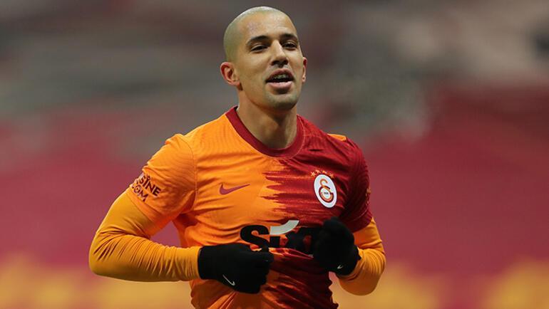 Son dakika - Galatasarayda Feghouli tedbir için çıkarılmış