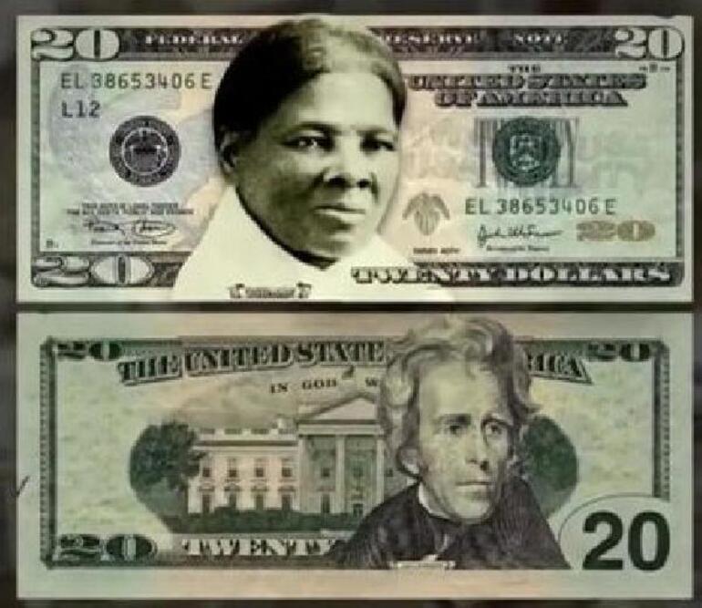 Bidendan 20 dolar banknotlarına ayar