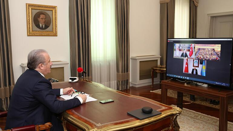 TBMM Başkanı Şentop: 1992den bu yana 5 bin Kazak öğrenciye YTB bursu verildi
