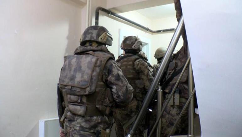 İstanbulda 4 ilçede eş zamanlı operasyon