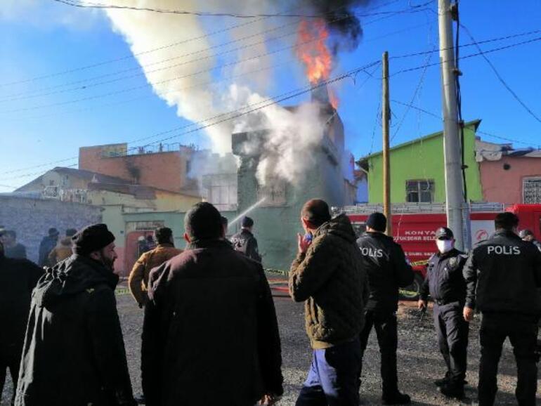 Son dakika haberler: Konyada korkunç yangın... Sinir krizi geçirdiler