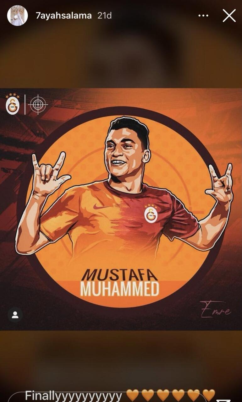 Son dakika - Galatasaray, Mostafa Mohamed transferini resmen açıkladı İşte maliyeti...