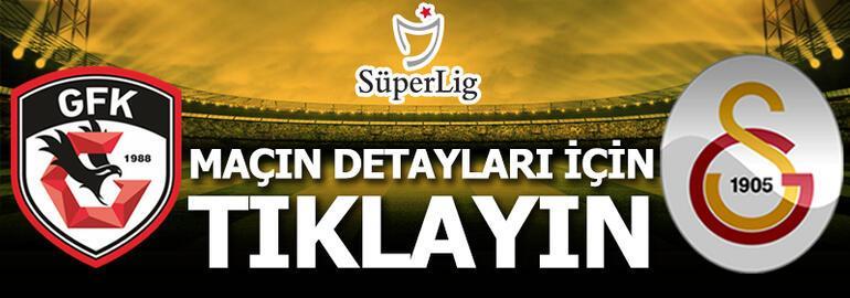 Gaziantep FK - Galatasaray: 1-2
