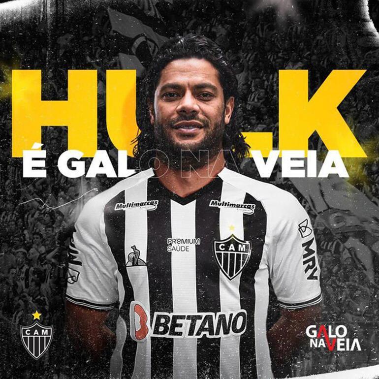 Son dakika - Atletico Mineiro, Hulkun transferini duyurdu