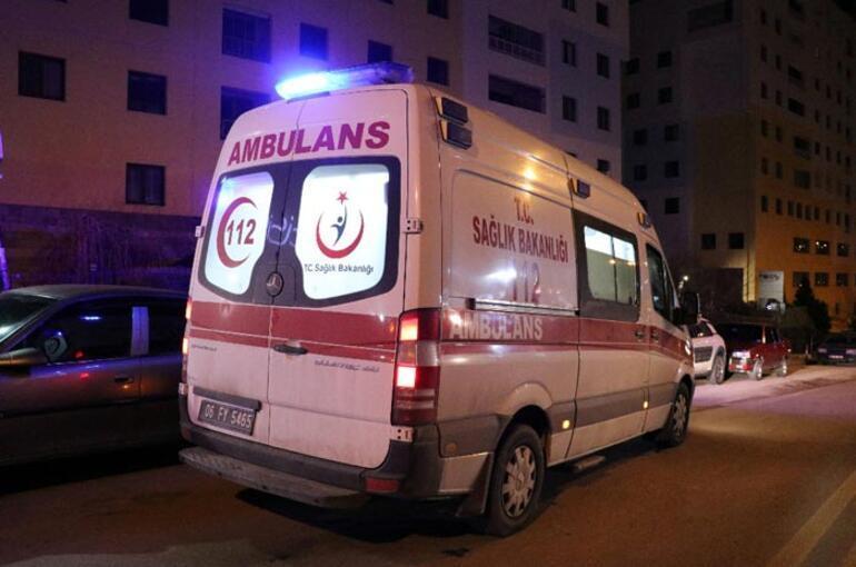 Ankarada restoranda silah ve palalı saldırı