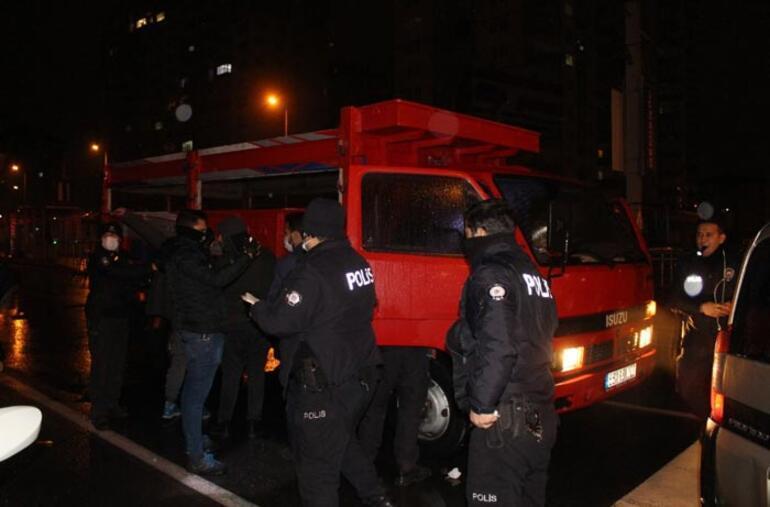 Polisin dur ihtarına 3 kişi kovalamacayla yakalandı