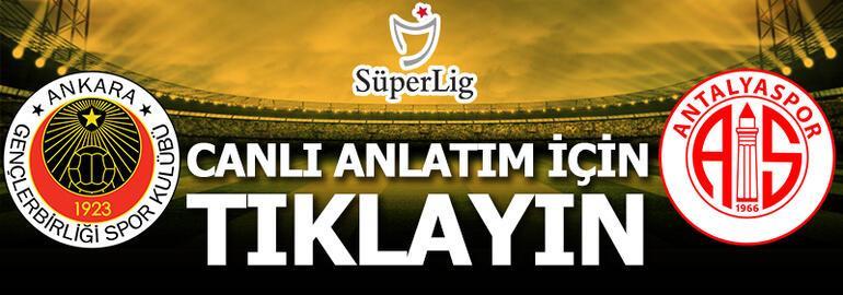 Gençlerbirliği-Antalyaspor: 0-1