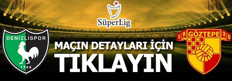 Denizlispor - Göztepe: 2-1