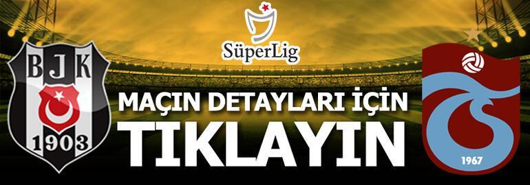 Beşiktaş - Trabzonspor: 1-2