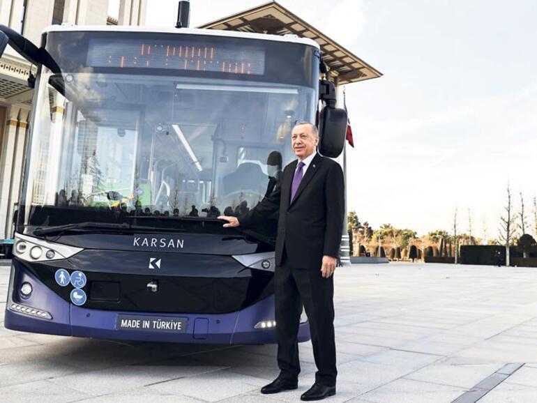 Sürücüsüz yerli otobüs tanıtıldı