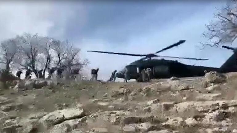 Eren- 5 Operasyonunda teröristlerin tuzakladığı EYP imha edildi