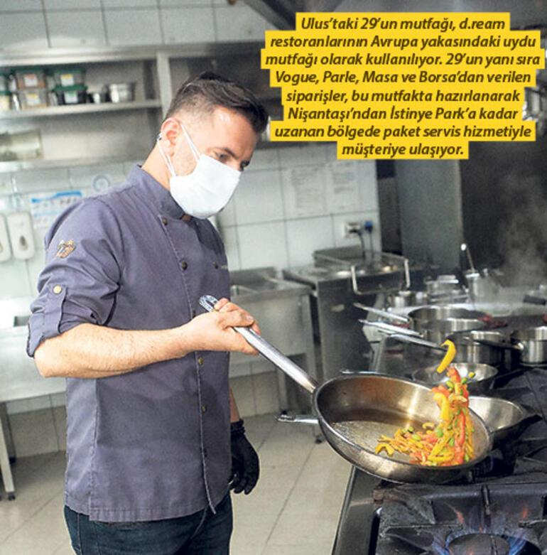 Pandemi ruhu hayalet mutfakta