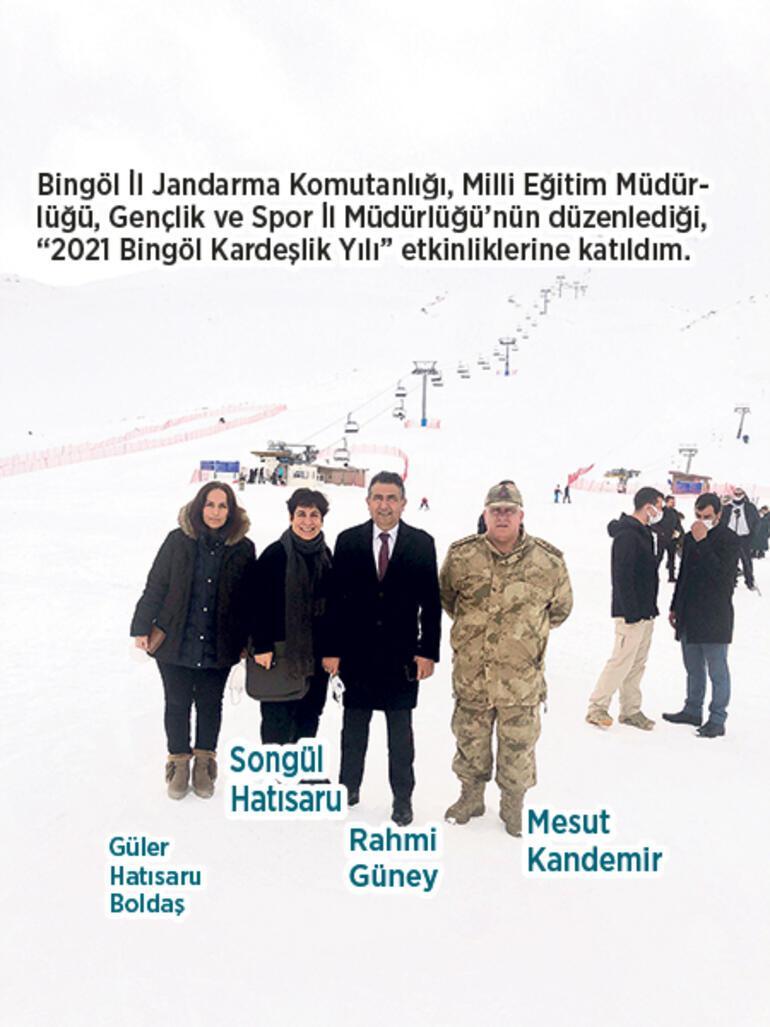 Bingöl'deki kardeşiniz kayağa çağırıyor
