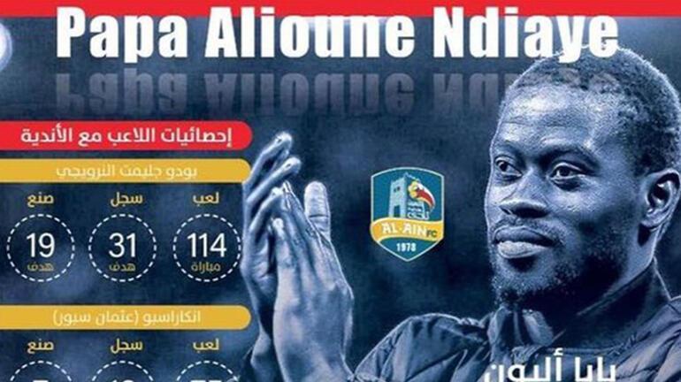 Badou Ndiaye, Al Aine transfer oldu