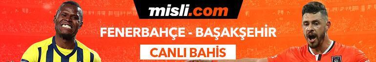 Fenerbahçe - Başakşehir maçı Tek Maç ve Canlı Bahis seçenekleriyle Misli.com'da