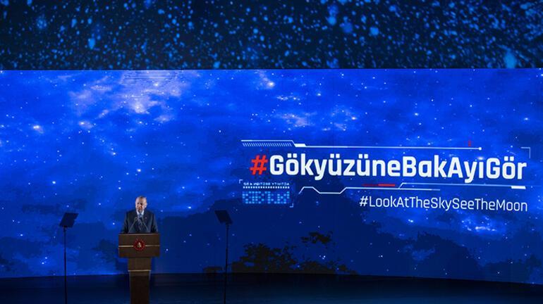 Son dakika: Erdoğan 10 uzay hedefini tek tek açıkladı Dünyaya duyurdu: 2023te Aya gidiyoruz