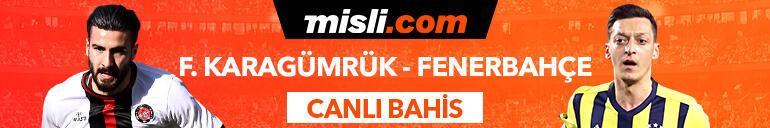 Fatih Karagümrük - Fenerbahçe maçı Tek Maç ve Canlı Bahis seçenekleriyle Misli.com'da