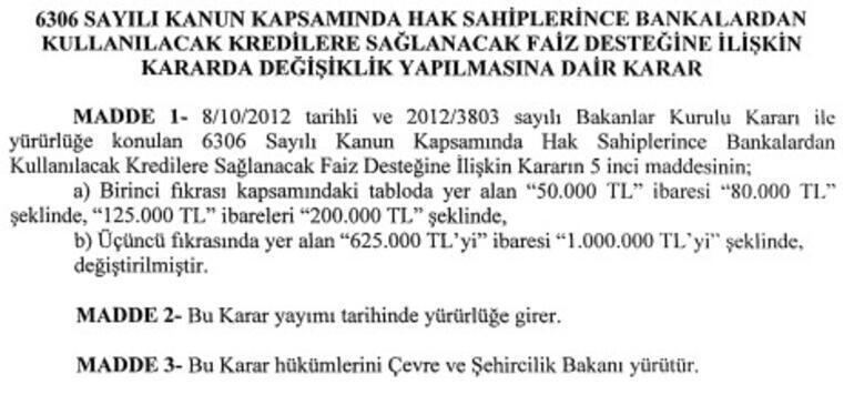 Son dakika haberi: Cumhurbaşkanı Erdoğan imzaladı Kredi limitleri artırıldı...