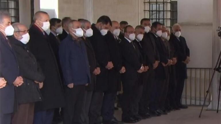 Son dakika Cumhurbaşkanı Erdoğan, Hafız Abdullah Nazırlının cenaze töreninde