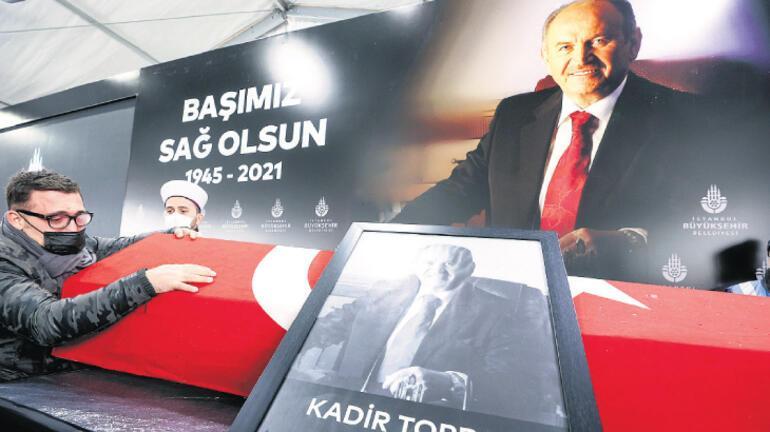 Kadir Ağabey'e son görev