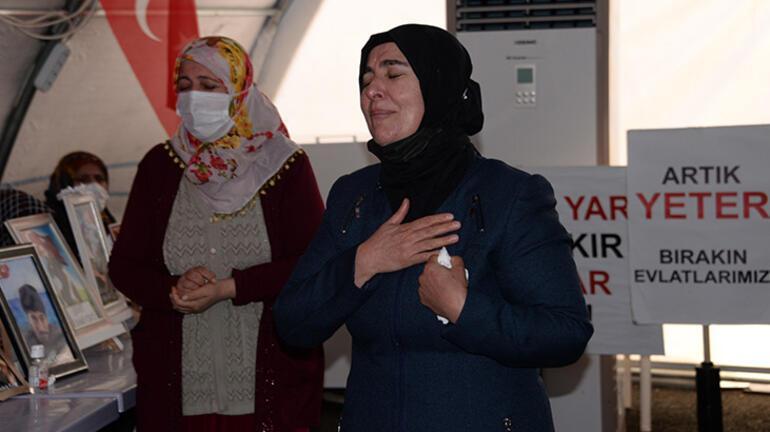 Diyarbakırda evlat nöbetindeki aileler: Devletimizin her zaman arkasındayız