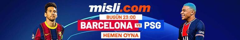 Barcelona - PSG maçı Tek Maç ve Canlı Bahis seçenekleriyle Misli.com'da