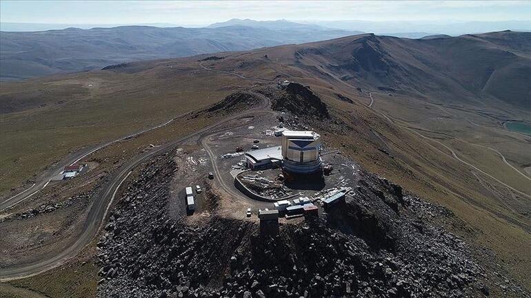 Erzurumda, astronomi ve uzay araştırmaları için teleskop