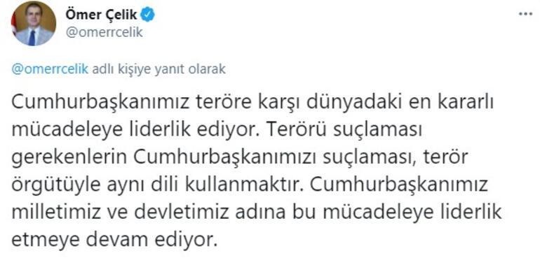 Son dakika... AK Parti Sözcüsü Ömer Çelikten Kemal Kılıçdaroğluna sert tepki