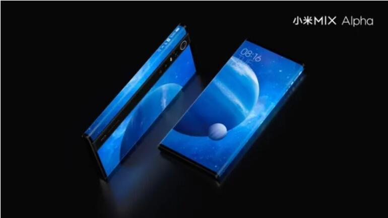 Xiaomiden bütün kenarları ekran olan telefon konsepti