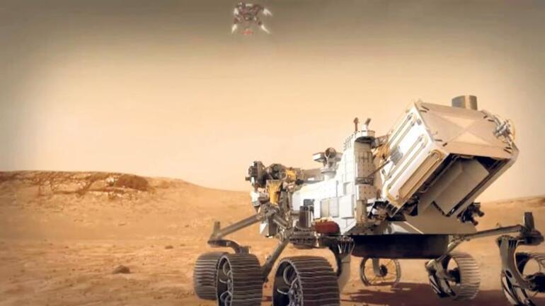 Mars'a 'Azimli' yolculuk