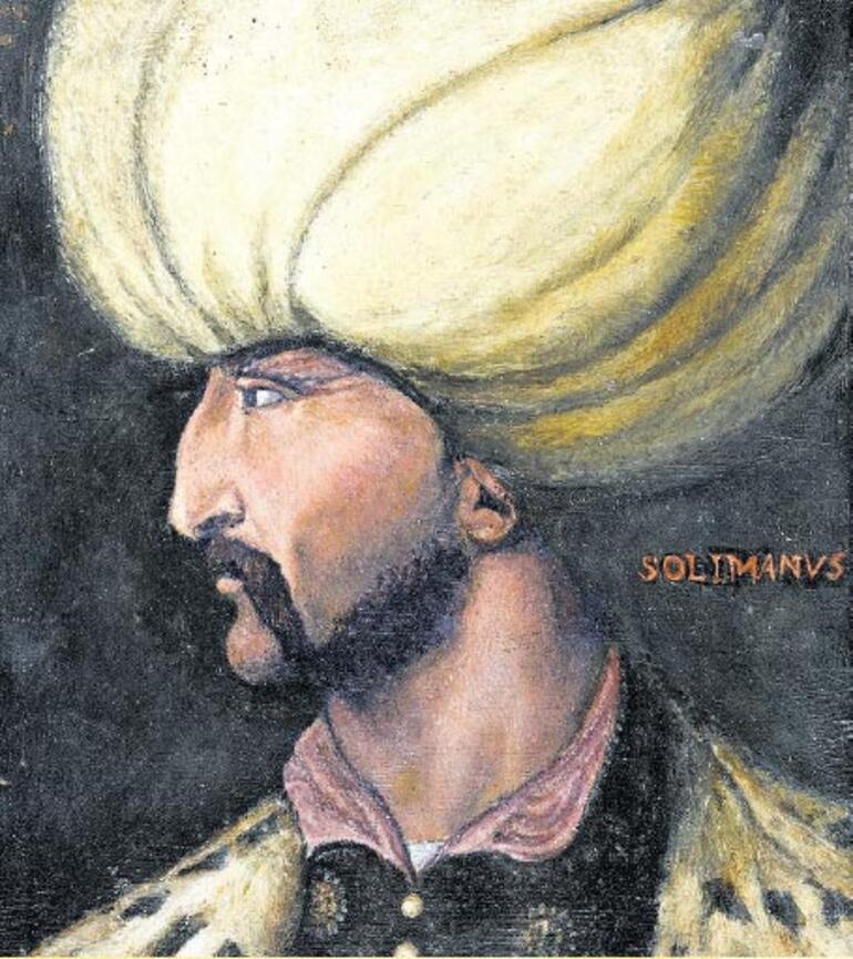 Muhteşem Süleyman'ın daha önce hiç görülmeyen portresi