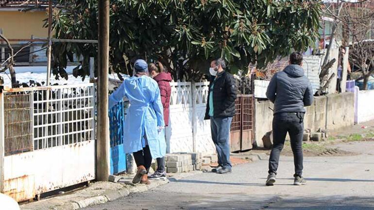 Sakaryada 7 evde yaşayan 33 kişi karantinaya alındı