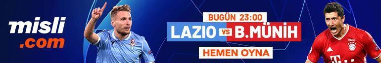 Lazio - Bayern Münih maçı Tek Maç ve Canlı Bahis seçenekleriyle Misli.com'da