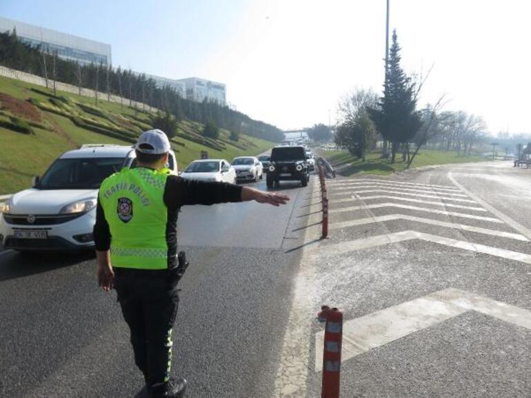 İstanbulda drone ile yakaladı Hemen durduruldu