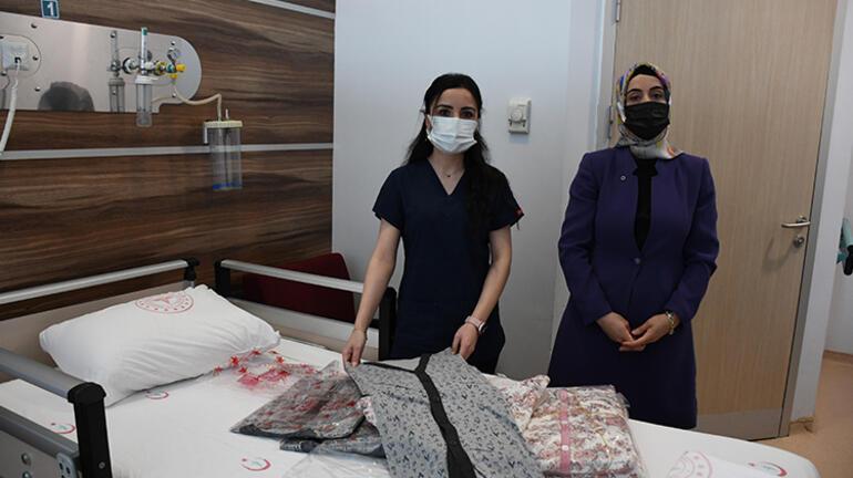 Şiddet gören hemşire, zanlıyı 200 hastaya pijama alması karşılığında affetti