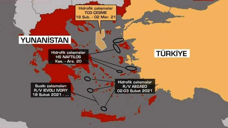 Son Dakika: Türk gemisine Egede tacize flaş yorum: Yunanistan tek başına bunun kararını veremez