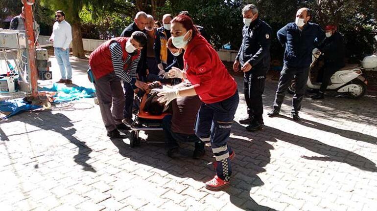 Son Dakika: Geriye bu fotoğraf kaldı Adanada işçinin kahreden ölümü
