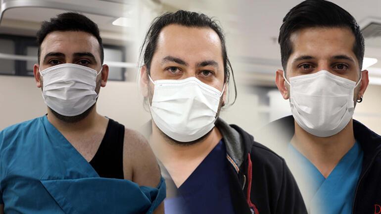 Hasta yakınları sağlık çalışanlarına dehşeti yaşattı