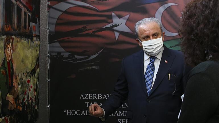 TBMM Başkanı Şentop, Hocalı Katliamının 29. Yıl Dönümü Fotoğraf ve Resim Sergisi açılışında konuştu