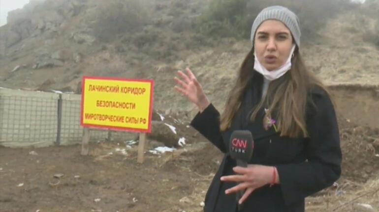 Son dakika... Karabağ'ın en stratejik noktası Giderken ağaçları bile kesmişler