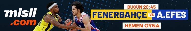 Fenerbahçe Beko - Anadolu Efes canlı bahis heyecanı Misli.comda