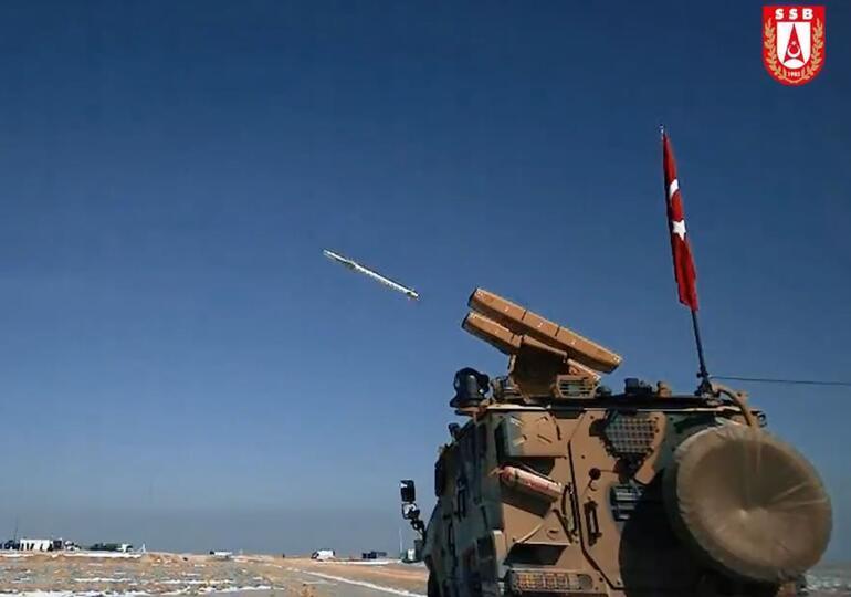 Son dakika... Yerli hava savunma sistemi SUNGURdan sevindiren haber