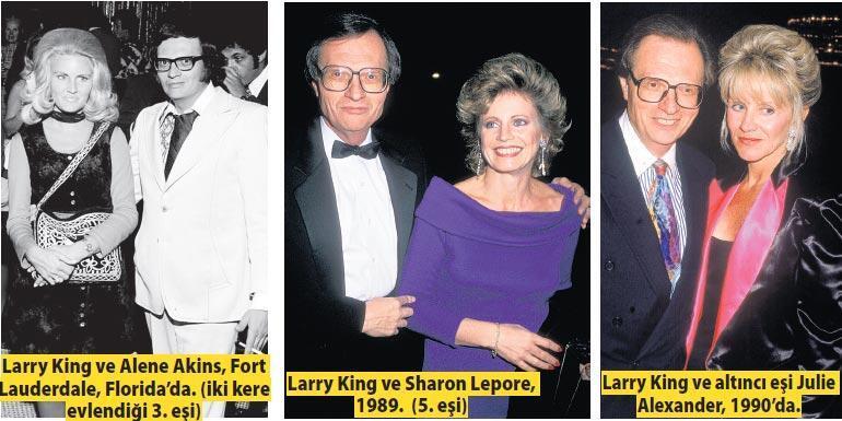 Larry King 'dondurulmuş'